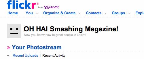 OH HAI Smashing Magazine