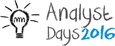 Analyst Days 2016